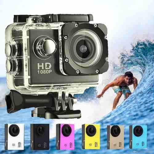 Camaras fotograficas tipo go pro+ memoria sd 32gb accesorios