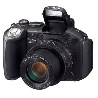 Canon powershot pro series s5 is cámara 8.0mp digital con