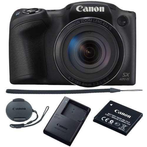 Canon powershot sx420 is cámara digital de 20mp 42 x