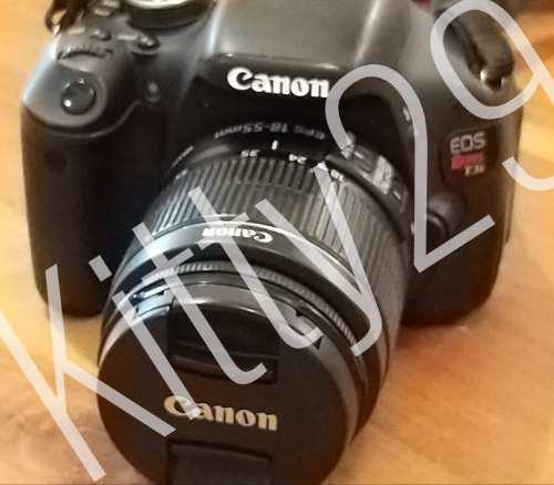 Cámara digital canon eos rebel t3i ds600 (8379 disparos)