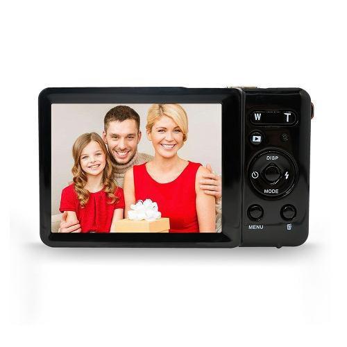Cámara digital hd mini cámara digital negro