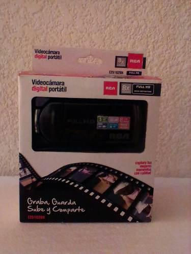 Videocámara digital portatil rca
