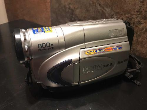 Videocámara jvc súper vhs 800x digital zoom