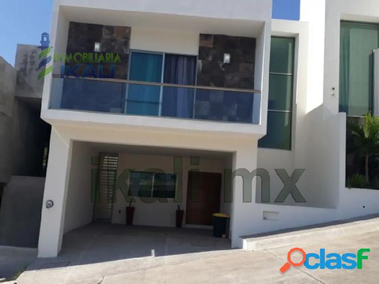renta casas 3 recamaras amueblada lomas jardines tuxpan Veracruz, Jardines de Tuxpan