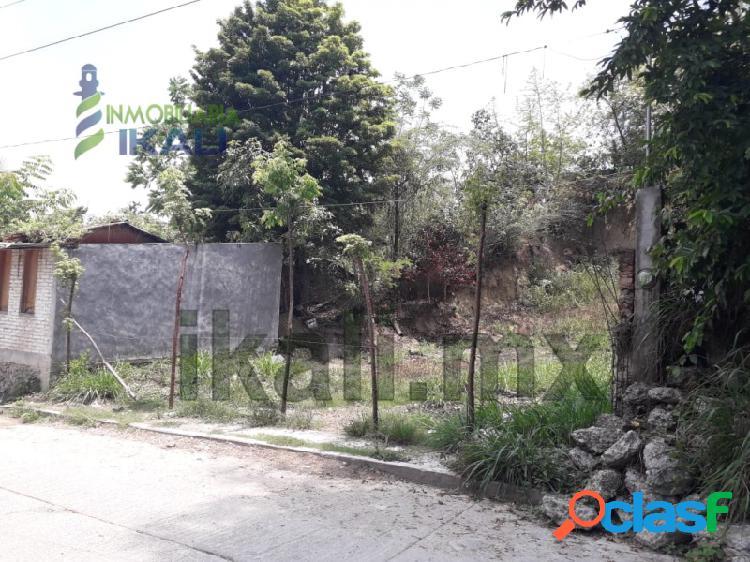 Venta Terreno 380 m² Barrio Del Naranjo Papantla Veracruz, El Mirador