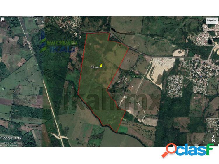 Venta rancho 95 hectáreas colindandante Tuxpan Veracruz, Universitaria