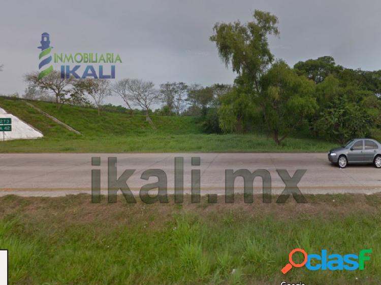 Venta Terreno 4,800 m² Autopista México -Tuxpan Veracruz, Zapotal Zaragoza