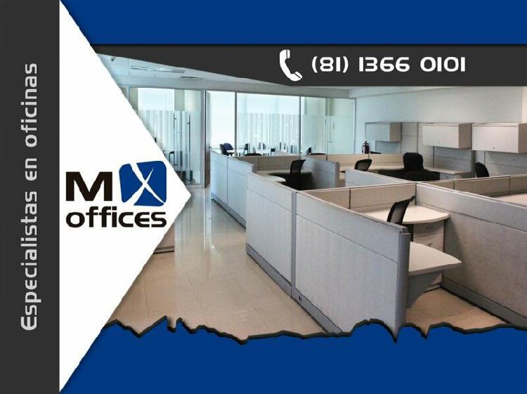 Amplia oficina amueblada edificio corporativo zona centro