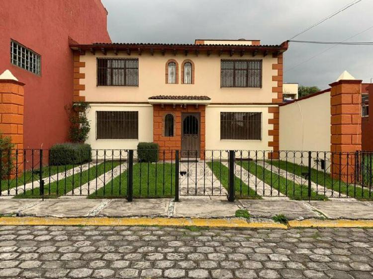 Casa en condominio - metepec /