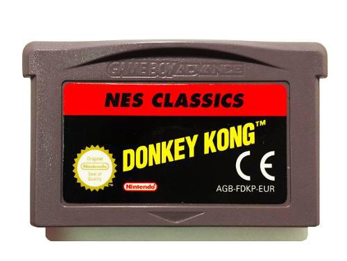 Donkey kong nes classics series - nintendo gba & nds