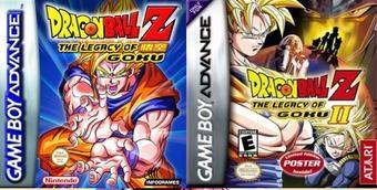 Dragon ball z legacy of goku coleccion game boy advance