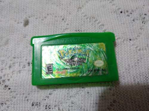 Gameboy advance pokemon leafgreen original