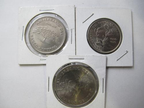 Monedas extranjeras costa rica lote3 aniversario banco abc