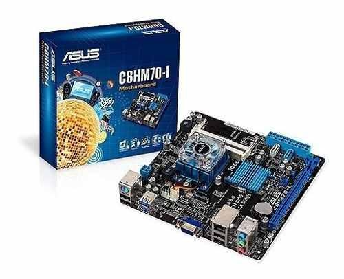 Tarjeta madre asus c8hm70-1 intel celeron dual core mini pc
