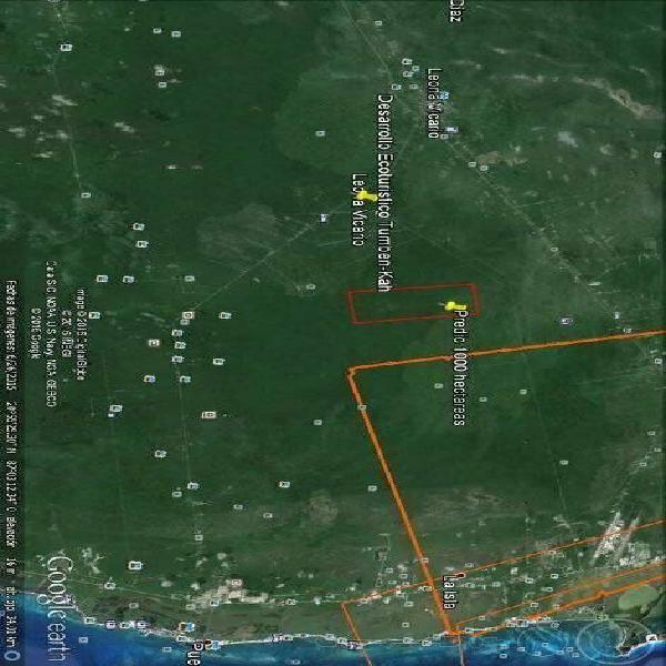 Terreno de 1000 hectáreas cerca al aeropuerto internacional