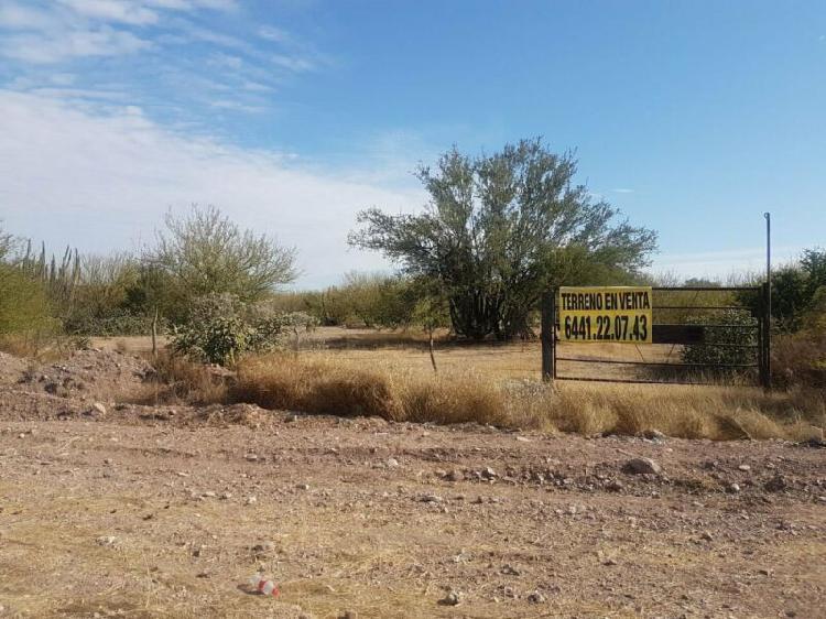 Vento 9 hectareas a orilla de carretera rumbo a la presa