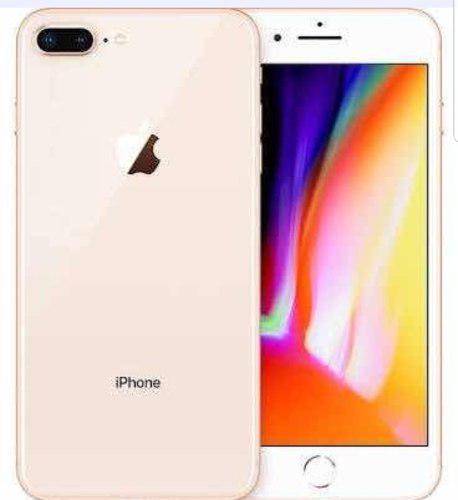 Iphone 8 plus gold 64 gb un pago $9600