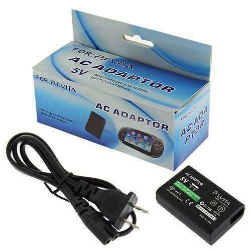 Cargador ps vita fat 1001 cable de datos usb en caja