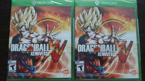 Dragon ball xenoverse xbox one nuevo sellado