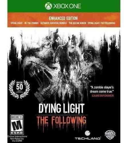 DYING LIGHT THE FOLLOWING MEJORADA XBOX ONE OF segunda mano  México (Todas las ciudades)