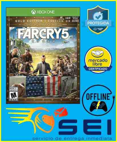 Far cry 5 deluxe xbox one offline