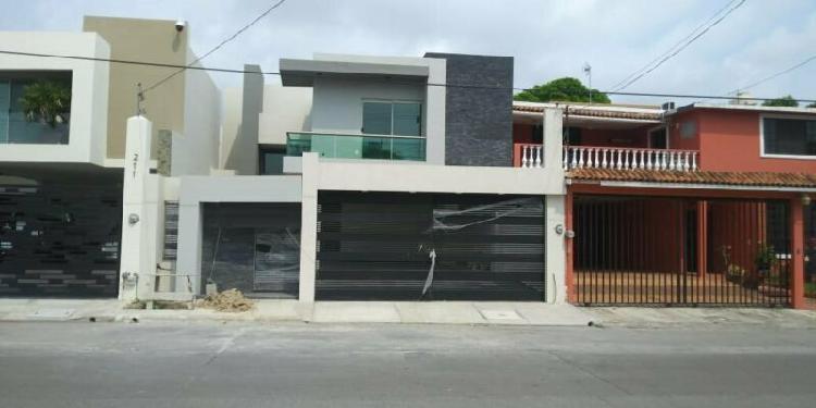 Hermosa casa nueva en venta. col. ampliación u. nacional.
