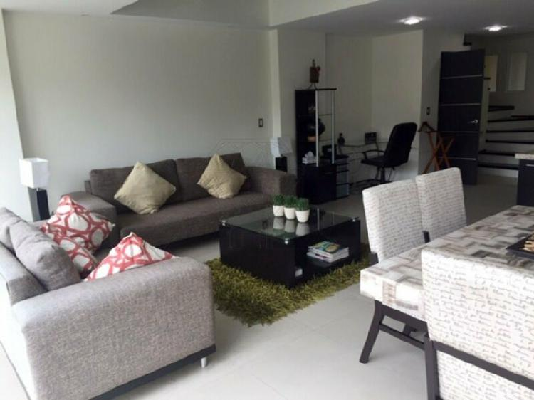 Nuevo leon, departamento en 2 pisos a la renta condesa (lg)