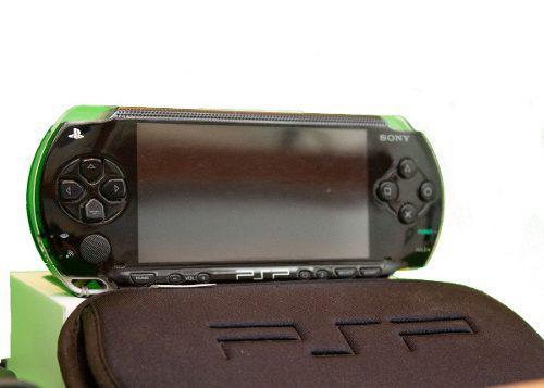 Paquete sony psp negro con juegos y accesorios