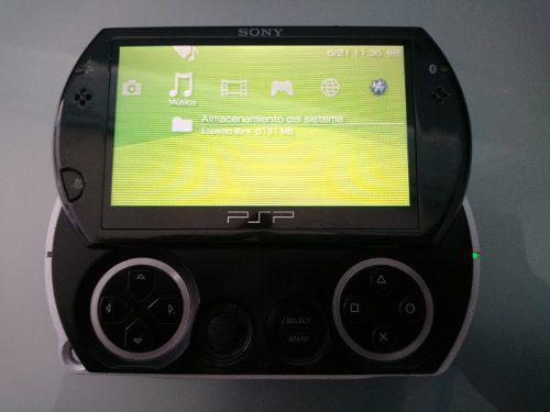Psp go con juegos digitales