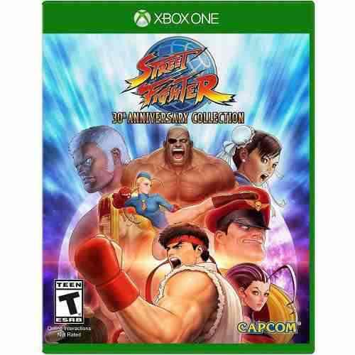 Street fighter 30th anniversary collection xbox one offl