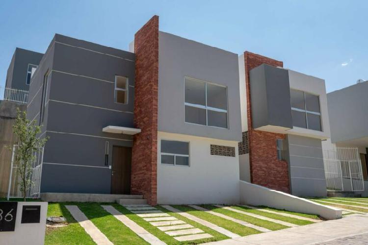 Casa en venta: modelo valle, fraccionamiento colinas de san