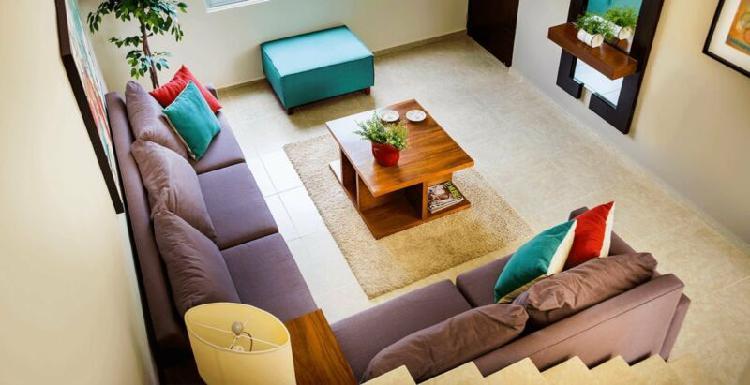 Casas dentro de privada en conkal (modelo idara).