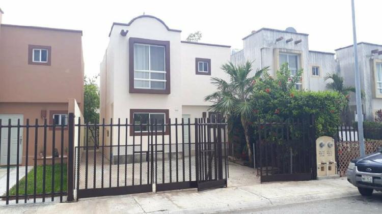 Renta casa jardines del sur cancun