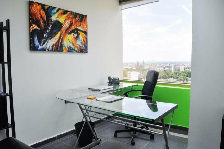 Renta oficina amueblada en av. chapultepec con servicios