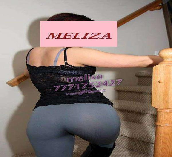 MELIZA CON UNAS GANAS DE TRATARTE BIEN RICO HASTA QUE QUEDES