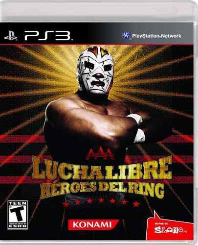 Aaa héroes del ring ps3 nuevo y sellado (en d3 gamers)