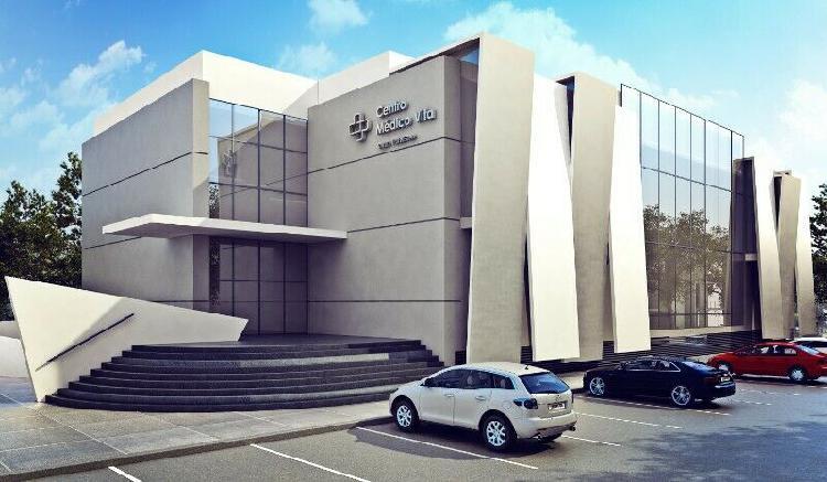 Consultorio médico en nuevo edificio patrimonial/inversion