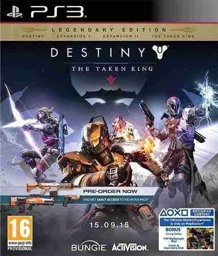Destiny legendary edition the taken king