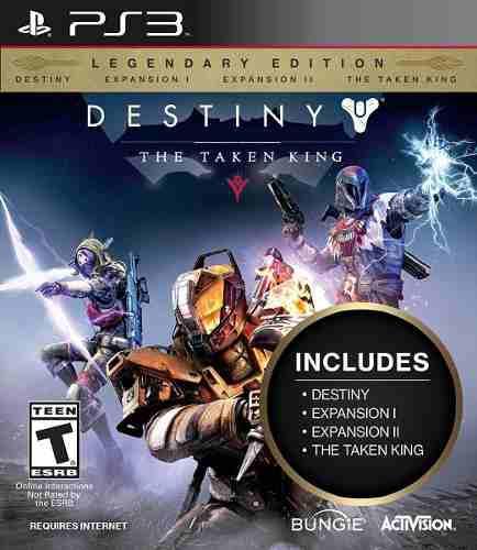 Destiny:the taken king edición de coleccionista ps3 digital