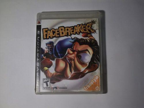 Facebreaker ps3 juego físico videojuego