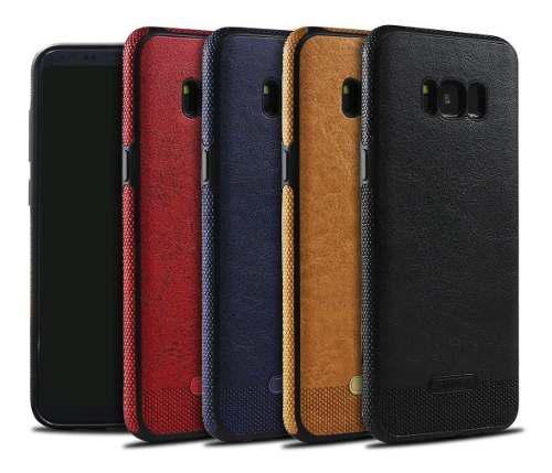 Funda Tipo Piel Leather Case Samsung S6 S7 S8 S9 S10 Note 9