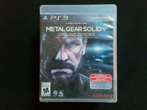 Juego metal gear solid v usado original