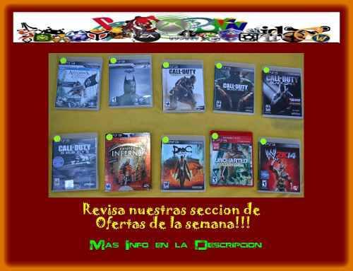 Juegos play station 3 - ps3 baratos fisicos semi a elegir