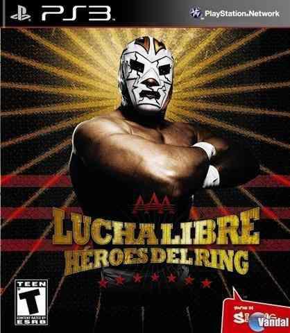 Juegos ps3 lucha libre heroes del ring playstation3 nuevo