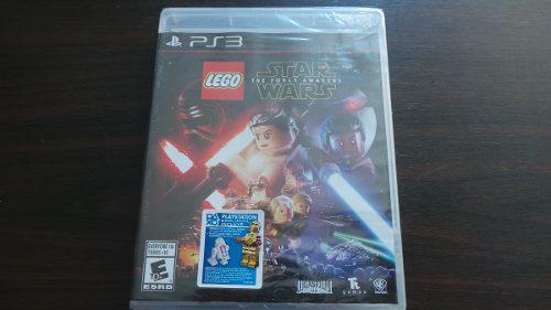 Lego star wars the force awakens ps3 nuevo sellado