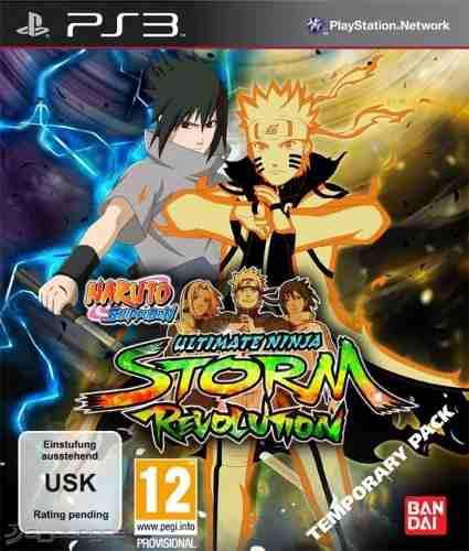 Naruto shippuden ultimate ninja storm revolution ps3 barato!