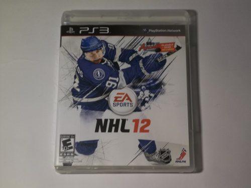 Nhl 12 ps3 juego físico videojuego