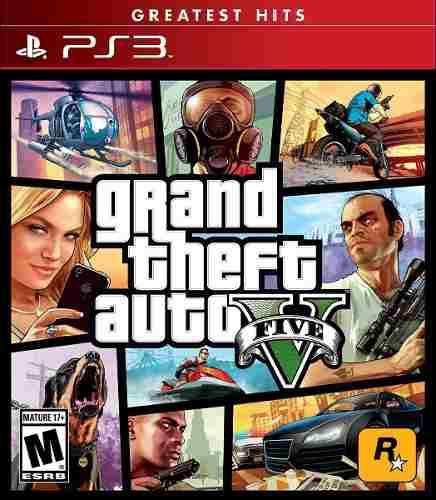 Playstation 3 grand theft auto v five ps3 nuevo
