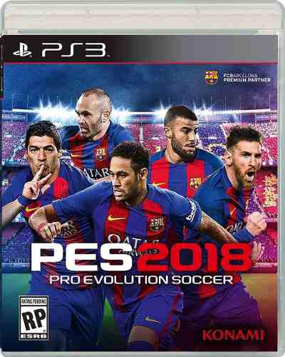 Pro evolution soccer pes 2018 playstation 3 ps3 videojuego