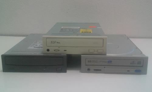 Unidades lectoras de cd's para cpu, sin checar